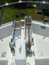 45' Symbol Pilothouse Trawler Anchor Windlass