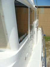 45' Symbol Pilothouse Trawler Port Side Deck
