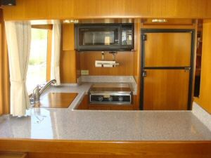 45' Symbol Pilothouse Trawler Galley