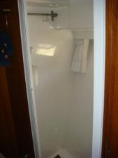 45' Symbol Pilothouse Trawler Master Shower