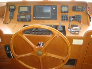 45' Symbol Pilothouse Trawler Pilothouse Console