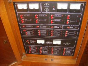 45' Symbol Pilothouse Trawler Electrical Panel