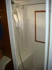 45' Symbol Pilothouse Trawler Guest Shower