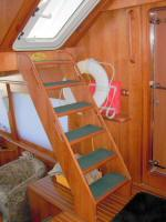 56' Symbol 54 Pilothouse - Flybridge access Stairs