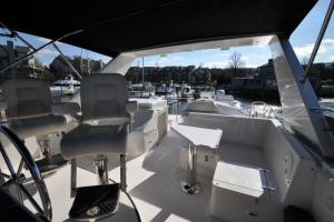 56' Symbol 54 Pilothouse Flybridge Seating