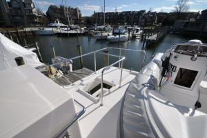 56' Symbol 54 Pilothouse Flybridge Aft Hatch