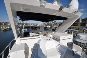 56' Symbol 54 Pilothouse Flybridge forward