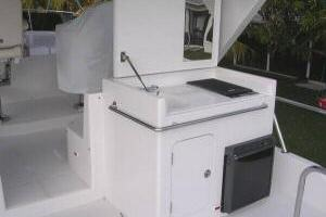56' Symbol Pilothouse 54 Flybridge Grill & Refrig
