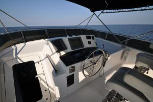 56' Symbol 54 Pilothouse Flybridge Helm