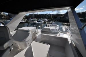 56' Symbol 54 Pilothouse Flybridge Aft - Dinghy