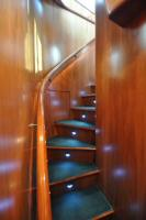 56' Symbol 54 Pilothouse Companionway Stairs