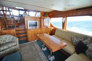 56' Symbol 54 Pilothouse Salon Forward