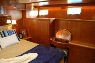 Symbol 56 Classic Master Stateroom cabinets