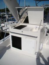 58 Symbol Pilothouse Flybridge Grill Open
