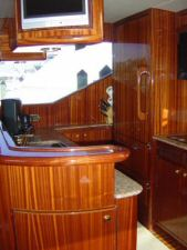 58 Symbol Pilothouse Starboard Side Galley