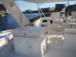 58 Symbol Pilothouse Flybridge Grill/Sink/Cabinet