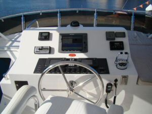 58 Symbol Pilothouse Flybridge Helm Dash