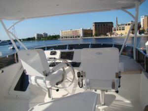 58 Symbol Pilothouse Motoryacht Flybridge Helm