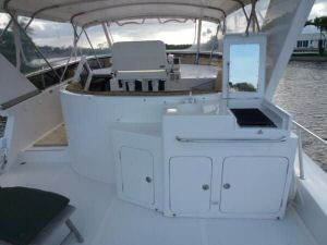 58' Symbol PIlothouse Flybridge Forward