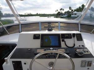 58' Symbol PIlothouse Flybridge Helm
