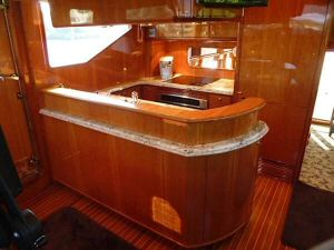 58' Symbol PIlothouse Galley