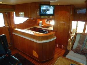 58' Symbol PIlothouse Galley (2)