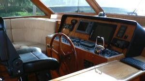 58' Symbol PIlothouse Pilothouse Helm