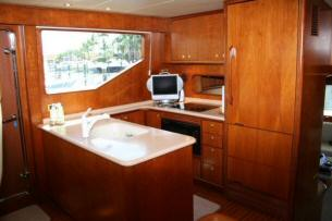 58' Symbol Pilothouse Motoryacht Galley