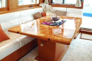 Symbol 59 Classic Pilothouse  Salon Custom Hi-Lo Table