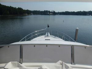 Ocean Alexander 64 Flybridge View Running