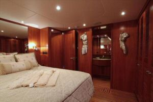 66' Symbol Pilothouse Master Stateroom Starboard