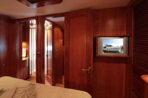 66' Symbol Pilothouse VIP Stateroom Aft
