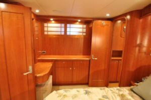 68' Symbol Pilothouse Motoryacht Master Stateroom Starboard Side