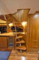 85' Symbol Yachtfisher 2010  Helm Staircase